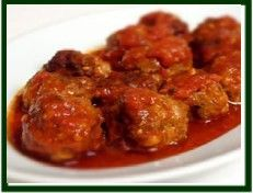 Albondigas a la Habanera. (Havanera Meatballs) - Cuban Recipes my brother in law came from Cuba these are the best!