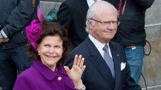 Dronning Silvia og kong Carl Gustaf ved en tidligere lejlighed