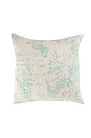 2 PACK PRINTED WINTER BOUQUET 45X45CM SCATTER CUSHION COVER