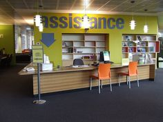 Reference desk by Edith Cowan University Library, via Flickr