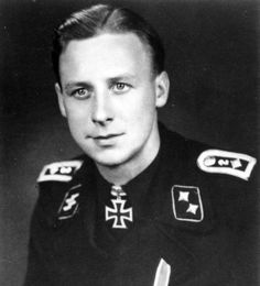 SS-Oberscharführer Ernst Barkmann (1919-2009) was an ace tank commander on both the Western and Eastern Fronts. He won great praise in Russia where he became an expert in defeating Soviet armor and was decorated with both ranks of the Iron Cross. In 1944, Barkmann fought to stem the Allied invasion of Normandy, where he won his Knight's Cross. He concluded the war fighting near Vienna and he was taken POW. Barkmann died at 90 in his home town of Kisdorf where he had settled after the war.