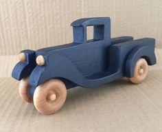 Little Blue Pickup Truck by PuzzlesnToysnWood on Etsy