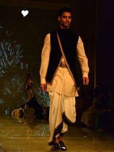 Indian Groom Wear - Dhoti | WedMeGood #wedmegood