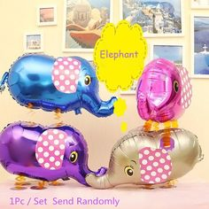 Auto-Seal Elephant Foil Balloon Reuse Party / Wedding Decor Inflable Gift for Children #shoes, #jewelry, #women, #men, #hats, #watches, #belts