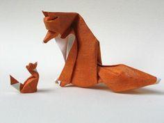 TIK paper foxes