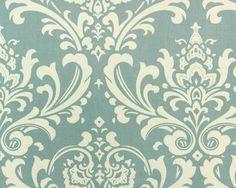 Ozborne Village Blue/Natural - Premier Fabric