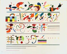Wassily Kandinsky - 'Succession' - (1935)