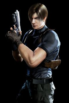 Leon S. Kennedy - Resident Evil I like Leon because of his unflagging devotion to duty and doing what is right. He will go into any danger to save the innocent or his friends. Leon S Kennedy, Resident Evil Collection, Mi Images, Resident Evil Game, Evil Art, Alternative Outfits, Christen, Survival, Guys
