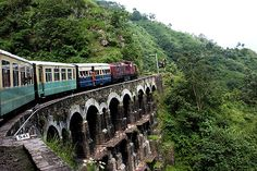 "Ride the ""toy train"" Darjeeling Himalayan Railway"