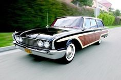 1960 Ford Station Wagons Maintenance/restoration of old/vintage vehicles: the material for new cogs/casters/gears/pads could be cast polyamide which I (Cast polyamide) can produce. My contact: tatjana.alic@windowslive.com