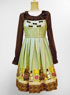 Emily Temple Cute » Jumper Skirt » Plushie Print Sleeveless OP