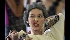 FOTOS: la polémica por el cabello afro de aluminio en la Semana de la Moda de Sao Paulo