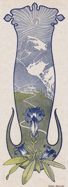 Ströse, Jugend magazine, 1903.