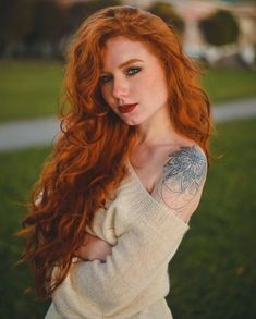 Long and red