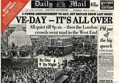 Daily Mail - VE Day