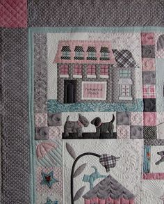That is my kind of quilting. Love it!