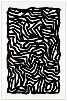 Sol Lewitt, Black Loops & Curves No. 2,  Etching with sugar lift aquatint, 1999