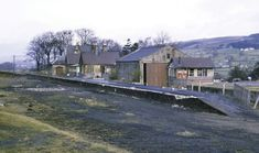 By 1967 Middleton-in-Teesdale station was abandoned and empty due to the closures known as the Beeching Axe.