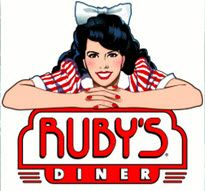 Healthy Meal For Kids At Ruby's Diner - Daily Dish with Foodie Friends Friday Vintage Diner, Retro Diner, Fifties Diner, Healthy Meals For Kids, Kids Meals, Diner Logo, Burger Restaurant, Restaurant Logos, Burger Places