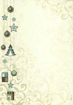 weihnachtsmotive für briefpapier zum kostenlos