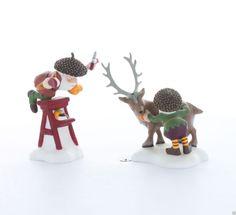 Mint in Box Dept 56 North Pole Woods Scissors Wizards