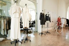 Inside the Spacious A'maree's  Boutique, Newport Beach
