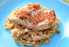 Paprika Chicken and Rice Bake – Whole Foods Version