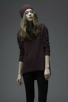 New this week - Cashmere blend sweater from Charli.