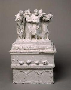 Les Bourgeois de Calais, première maquette | Musée Rodin