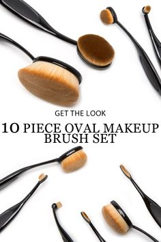 This essential brush set gives you all the tools you need to apply makeup like a pro.
