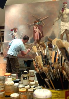 Graydon Parrish works in the classic principles of art.