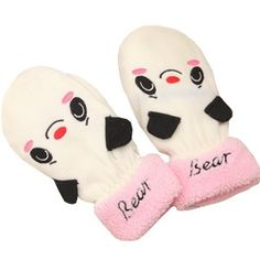 kawaii panda bear mittens