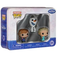 Frozen Pocket Pop! Tin - 745 points