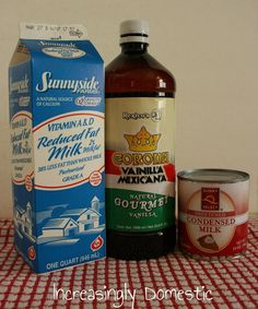 Increasingly Domestic: {Recipe} Vanilla Coffee Creamer - think I will substitute lowfat sweetened condensed milk instead