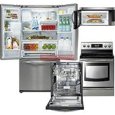 Samsung Kitchen Set #samsung #biasicom Kitchen Words, Kitchen Sets, French Door Refrigerator, Kitchen Appliances, Samsung, Diy Kitchen Appliances, Diy Kitchen Appliances, Home Appliances, Kitchen Gadgets