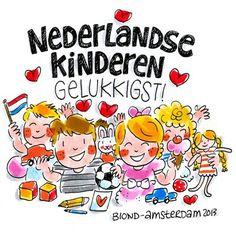 Nederlandse kinderen gelukkigst! - Blond Amsterdam