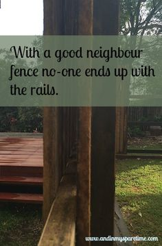 A well-constructed and thought out fence can be both practical and aesthetically pleasing. For me the fence had to be a considered part of the finished product, not an after thought. A fence is one…