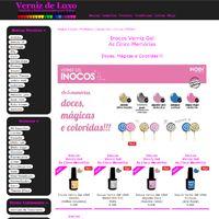 Verniz de Luxo - Inocos Verniz Gel As Cinco Memórias. Doces, Mágicas e Coloridas!!!