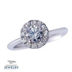 Inel cu Diamant 1 x Diamant 12 x Diamante Gems, Engagement Rings, Jewelry, Fashion, Enagement Rings, Moda, Wedding Rings, Jewlery, Jewerly