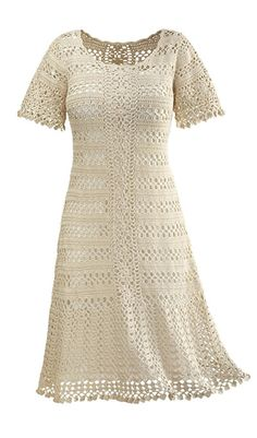 classic crochet dress theparagon.com