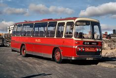 Another unusual coach in the OK Motors fleet was this ex Bartons - a 1969 rebuild & rebody of an older AEC Reliance. Bishop Auckland, North East England, Cumbria, Coaches, Buses, Motors, Ms, Group, Travel