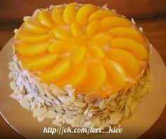 Персиковый чизкейк #торт_на_заказ_киев #чизкейки #комбинированный_торт #без выпечки_торт #низкокалорийный_торт