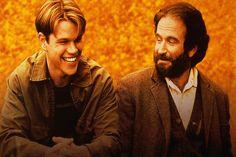 Will Hunting (avec Matt Damon, Ben Affleck et Robbin Williams) raconte l'histoire d'un orphelin surdoué qui vit dans le quartier Sud de Boston.