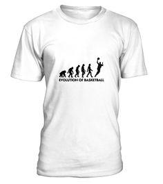 T shirt  The Evolution of Basketball  fashion trend 2018 #tshirtdesign, #tshirtformen, #tshirtforwoment