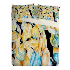 Rosie Brown Gourds Galore Sheet Set Lightweight | DENY Designs Home... ($199) via Polyvore