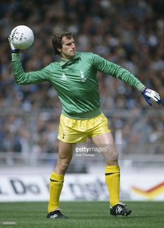 Tottenham Hotspur goalkeeper Ray Clemence during the FA Cup Final against Queens Park Rangers at...