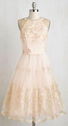 Eloquent Admirer Dress -- sweet and modest