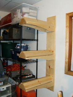 Triple Saddle Stand-make it a single w/ shelf?                              …