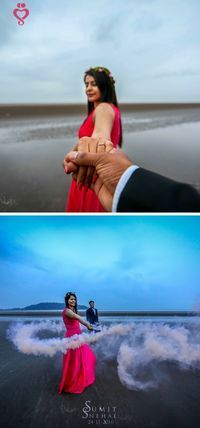 "Shreyas Ingole - ""Portfolio"" - Love Story Shot - Bride and Groom in a Nice Outfits. Indian Wedding Couple Photography, Wedding Couple Photos, Wedding Photography Poses, Wedding Pics, Wedding Couples, Wedding Shoot, Wedding Beach, Post Wedding, Trendy Wedding"