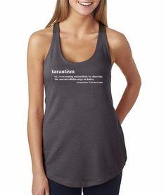 fb32cd78d2abf Tarantism Dance Women s Racerback Workout Fitness Tank Celfie Shirt